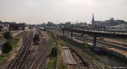 Вид с варшавского моста