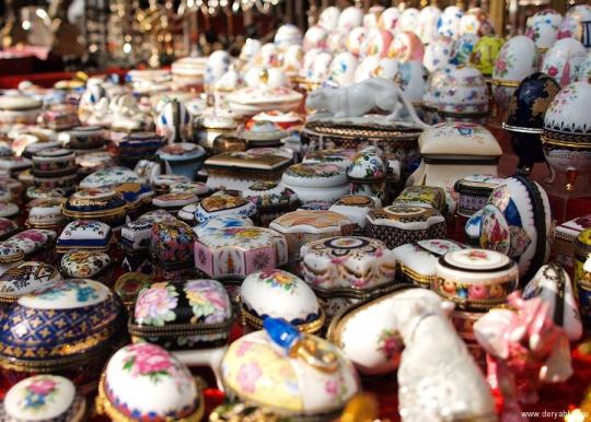 На берлинском блошином рынке