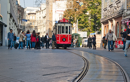 Трамвайчик в Стамбуле