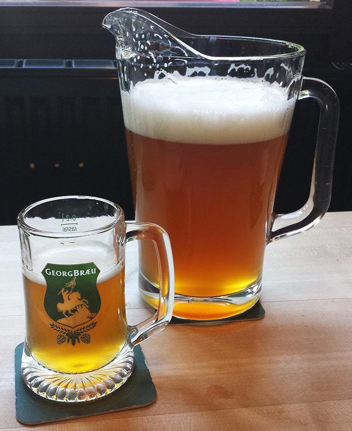 Пиво Георгброй - Берлин