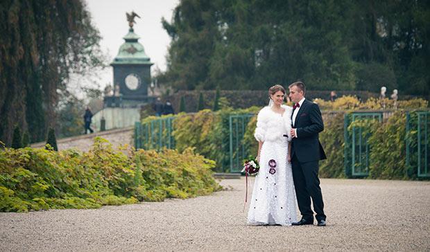 Оля и Олександр - свадебная фотосессия в Потсдаме
